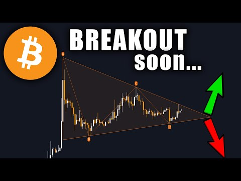 BITCOIN BREAKOUT IMMINENT & BIG NEWS FOR BTC AND CRYPTO!!!