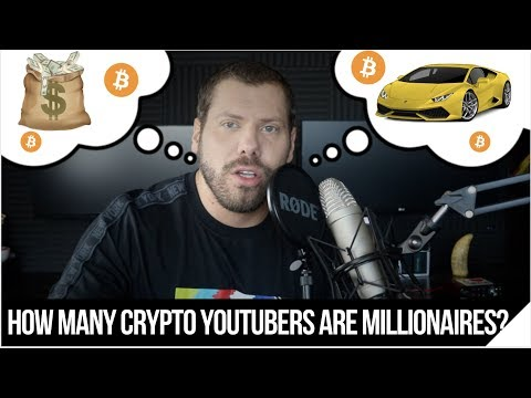 How many Crypto YouTubers are Millionaires?