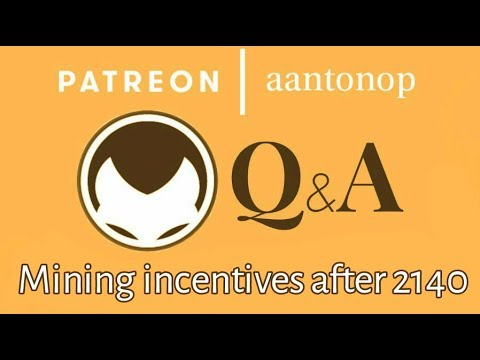 Bitcoin Q&A: Mining incentives after 2140