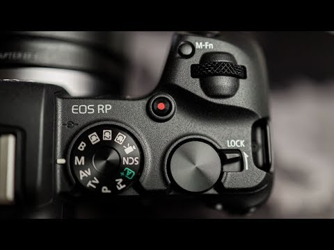 Canon EOS RP Unboxing WOW I'M SHOCKED