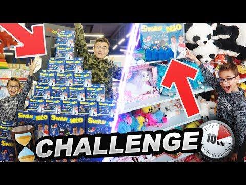 CHASSE AUX COFFRETS SWAN & NÉO – 10 Minutes Challenge !!!