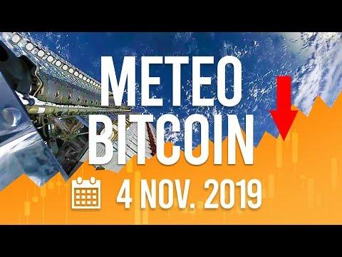 La Météo Bitcoin FR – Lundi 4 novembre 2019 – Analyse Crypto Fanta