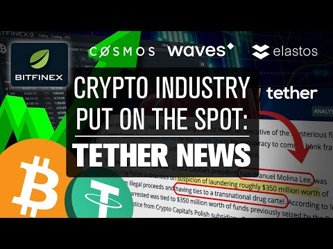 HUGE Tether News & Arrest!! Crypto Industry Survival!? What the Projects Think…