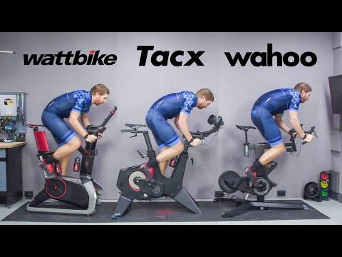 Indoor Smart Bike Showdown: Wahoo KICKR Bike vs Tacx NEO Bike vs Wattbike Atom