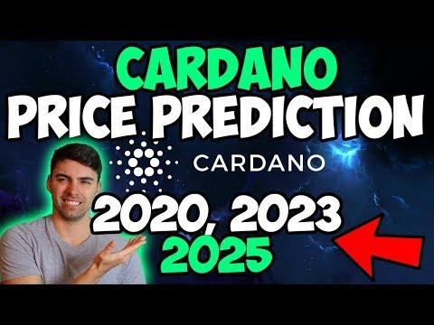 CAN CARDANO REACH $1, $10 OR $100? | ADA PRICE PREDICTION 2019, 2023, 2025