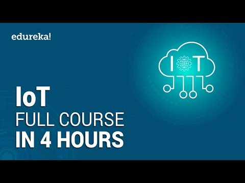 IoT Full Course – Learn IoT In 4 Hours | Internet Of Things | IoT Tutorial For Beginners | Edureka