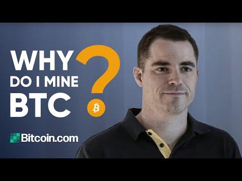 Why do I mine BTC? – Roger Ver Interview