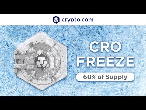 CRYPTO.COM FREEZES 60% OF THE SUPPLY OF CRO TOKEN!!!
