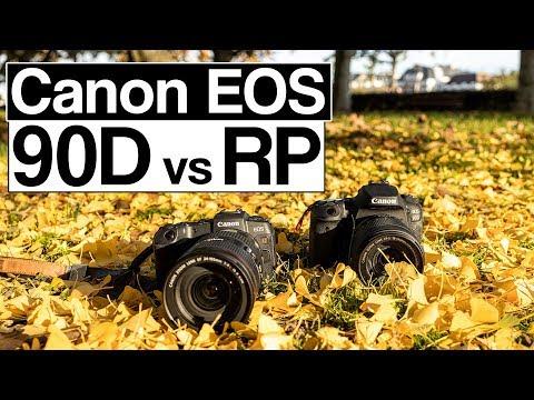 Canon EOS 90D vs EOS RP | die fast perfekte Kamera | Vergleich deutsch
