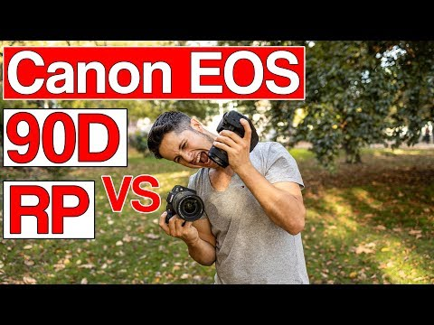 Canon EOS 90D vs EOS RP | Which one should you buy? | english review