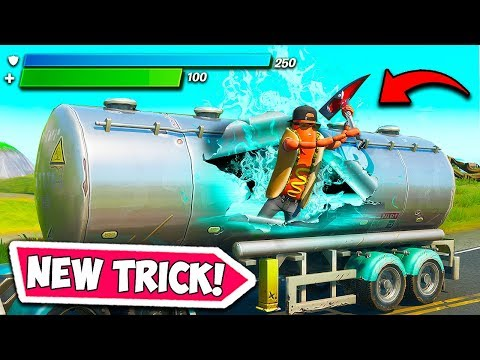 *NEW* EPIC MAX SHIELD TRICK!! – Fortnite Funny Fails and WTF Moments! #736