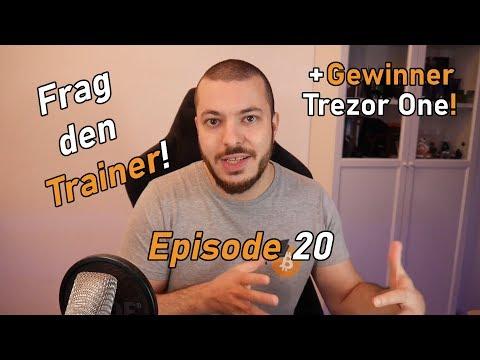 Frag den Trainer! Episode 20 | ADA, IOTA, NAS Speicher und vieles mehr!
