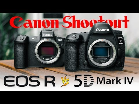 Canon EOS R vs. 5D Mark 4 – Which is best for VIDEO?