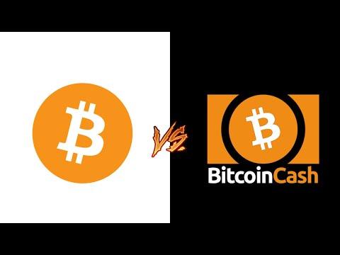 Diferencia entre Bitcoin y Bitcoin Cash