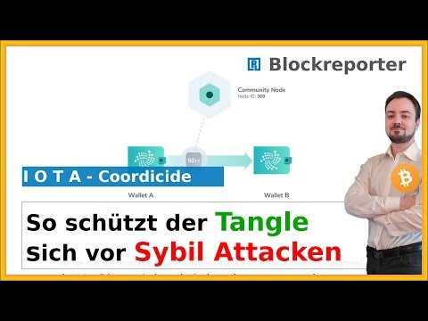 So schütz IOTA den Tangle vor Sybil Attacken| Blockreporter deutsch kryptowährung