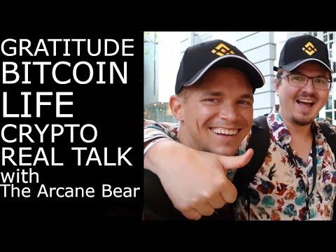 Crypto Real Talk – Life, Bitcoin, & Gratitude