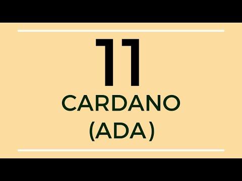 Cardano ADA Technical Analysis (11 Nov 2019)