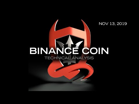 Binance Coin Technical Analysis (BNB/USDT) : Shaping Up…  [11.13.2019]