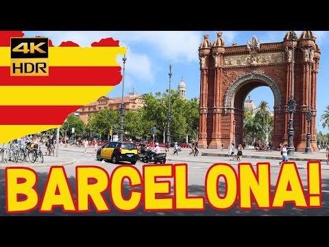 Barcelona top tourist attractions 2019 (4K) #Barcelona #BCN