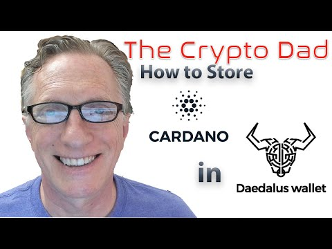 How to Store Cardano ADA in the Official Daedalus Wallet