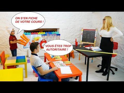NE JAMAIS RÉPONDRE EN CLASSE !!! (Court-métrage)