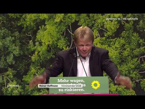 Rede Reiner Hoffmann (DGB-Vors.) auf der BDK der Grünen am 17.11.19