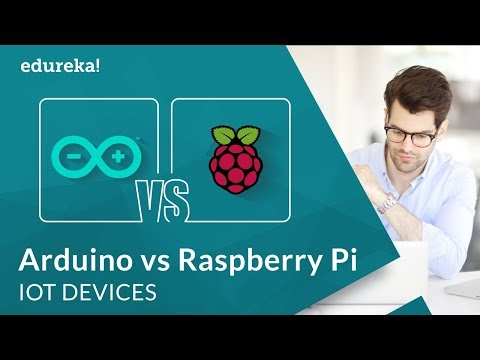 Arduino vs Raspberry Pi | Which Board to Choose for IoT Projects | IoT Devices | Edureka