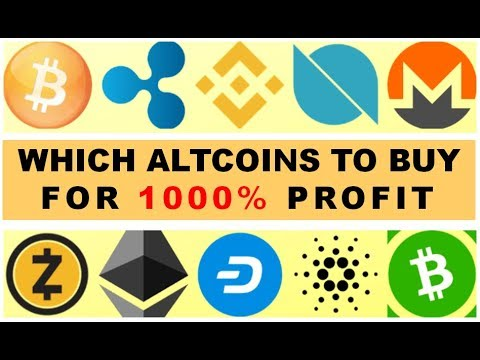 """WHICH ALTCOINS TO BUY FOR """"1000%"""" PROFITS? – 17/11/2019 – WEEKLY CRYPTO LIVE STREAM"""