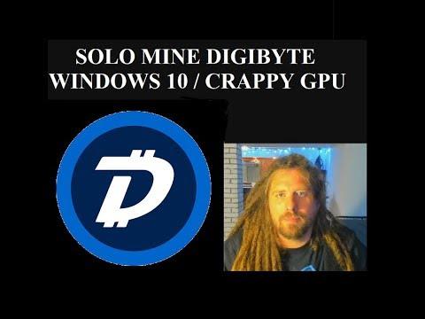 SOLO MINE DIGIBYTE – Windows 10 / Graphics Card