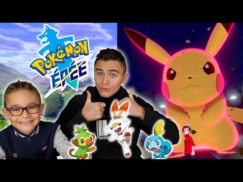 POKÉMON ÉPÉE ET BOUCLIER NINTENDO SWITCH: JE COMMENCE L'AVENTURE !!! 🤩Ft. Swan The Voice