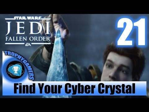 Jedi Fallen Order – Find Your Cyber Crystal & Get the Split Saber- Walkthrough Part 21