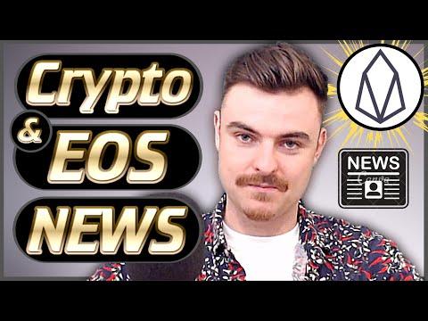 Crypto News Weekly #47 – EOS News Exploding! – Bitcoin News – Dapp News & More!
