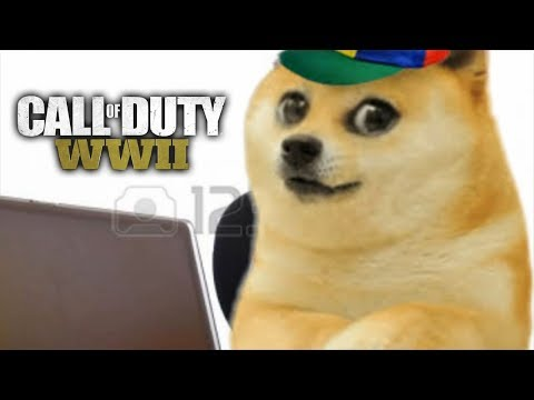 Doge plays Call of Duty but there's no sound