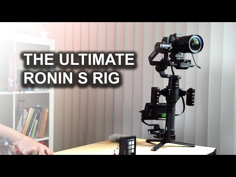The Ultimate Ronin S Rig – two handed filming (DRAFT).