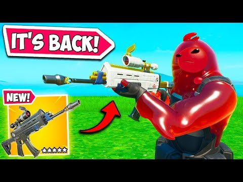 *UPDATE* SCOPED AR COMING BACK?? – Fortnite Funny Fails and WTF Moments! #747