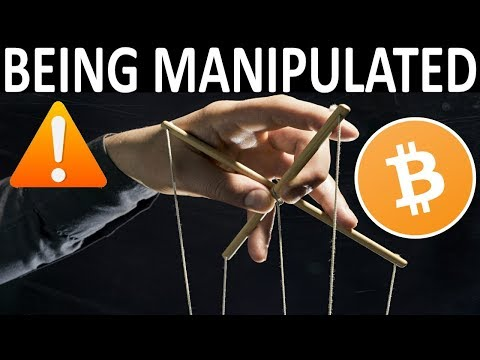 WE ARE BEING MANIPULATED!  BITCOIN HEADED TO $4k?!  DUE FOR ALTCOIN BOUNCE!  FAKE NEWS EXPOSED!