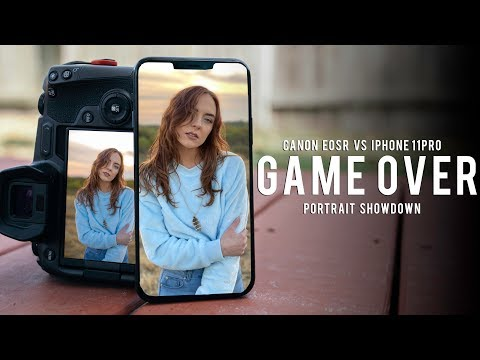 This is Crazy! | Canon EOS R vs iPhone 11 Pro
