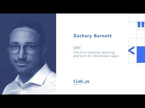 Lisk.js 2019 | GNY: Machine Learning Platform for Blockchain Apps [Part 12 of 12]
