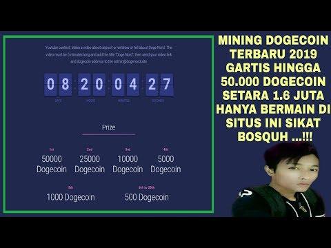 UANG GRATIS 50K DOGECOIN | 1.6 JUTA GRATIS | MINING DOGECOIN