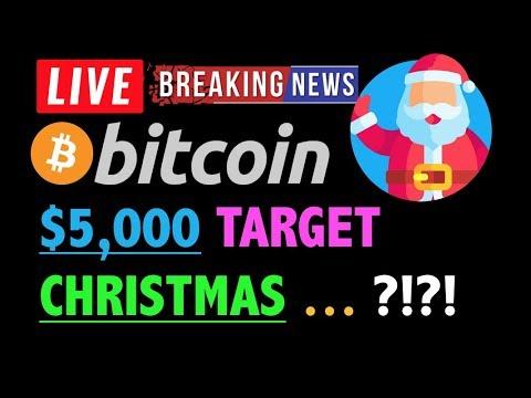 BITCOIN: CRASH TO $5,000 BY CHRISTMAS?❗️LIVE Crypto Dump Analysis TA & BTC Cryptocurrency Price News