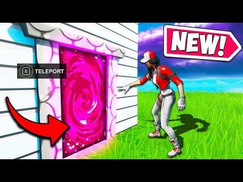 *NEW* INSANE TELEPORT GLITCH!! – Fortnite Funny Fails and WTF Moments! #750