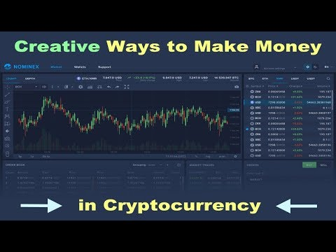 Creative Ways to Make Money in Cryptocurrency