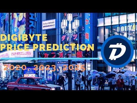 DigiByte might reach $5 | Digibyte Price Prediction 2020, 2023, 2025 | DGB Price