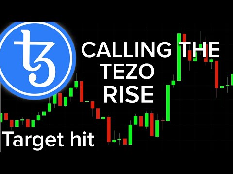 Calling the TEZOS rise 100% on target