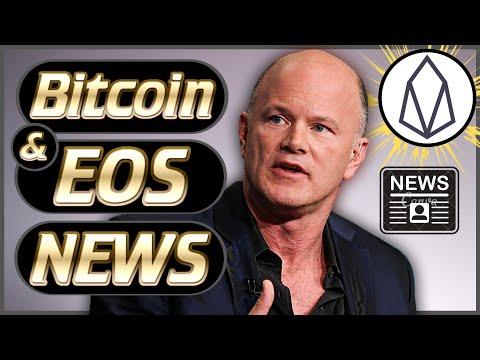 Crypto News Weekly #48 – EOS News CPU! – Mike Novogratz – Liquidapps! – Bitcoin Price News & More!