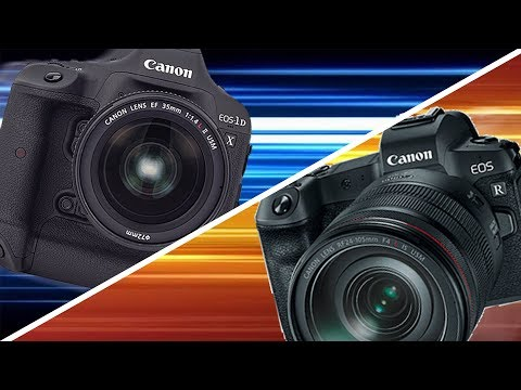 The EOS-R vs. The 1DX II in 2019