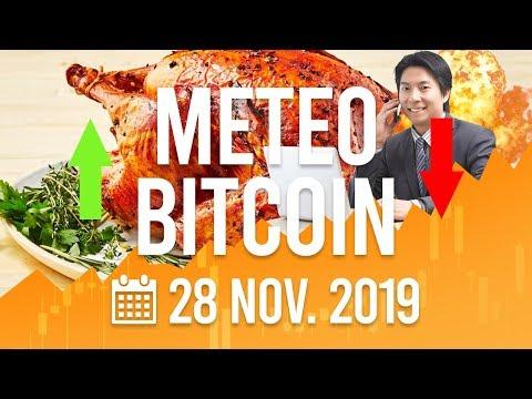 La Météo Bitcoin FR – 28 novembre 2019  – Analyse Crypto Fanta