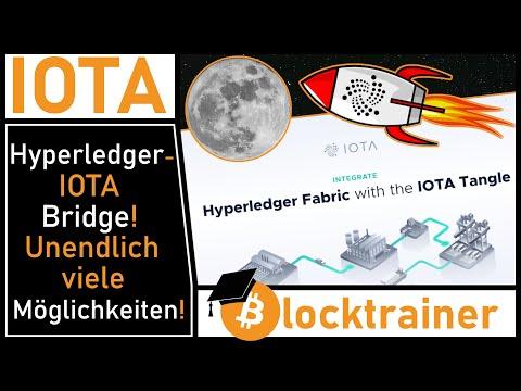 Hyperledger Fabric – IOTA Bridge! Unendlich viele Anwendungsfälle!