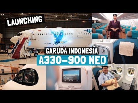 TERBARU! Garuda Indonesia Airbus A330-900 NEO Special Livery Unveiling + Aircraft Tour!