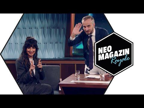 Aya Jaff zu Gast im Neo Magazin Royale mit Jan Böhmermann – ZDFneo